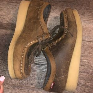 Clark's Wallabee shoes